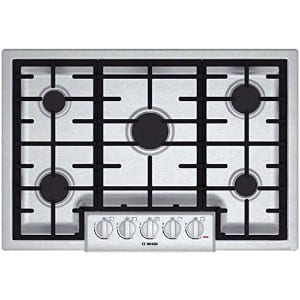 Bosch Ngm8055uc 800 30 Sealed Burner Stainless Steel Gas Cooktop Product Image