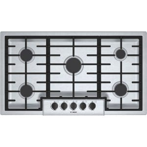 Bosh Ngm5655uc500 63 Sealed Burner Stainless Steel Gas Cooktop Product Image