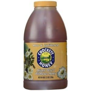 Crockett Honey Raw And Unfiltered Arizona Desert Wildflower Honey Product Image