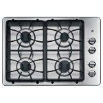 Ge Jgp329 Setss 30 Wide 4 Sealed Burner Stainless Steel Gas Cooktop Product Image