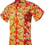 Funny Guy Mugs Mens Hawaiian Print Button Down Shirt Product Image