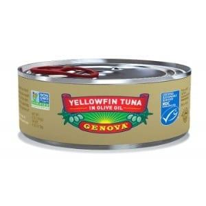 Genova Yellowfin Tuna In Pure Olive Oil Product Image