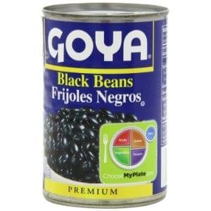 Goya Black Beans Frijoles Negros Product Image