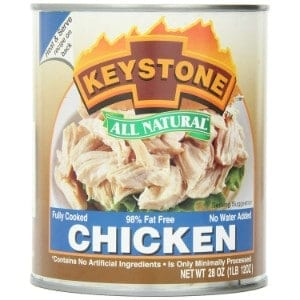 Keystone Meats All Natural Canned Chicken Product Image
