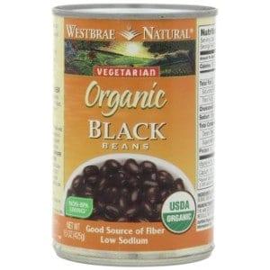 Westbrae Natural Organic Black Beans Product Image