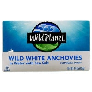 Wild Planet, Wild Anchovies In Water Product Image