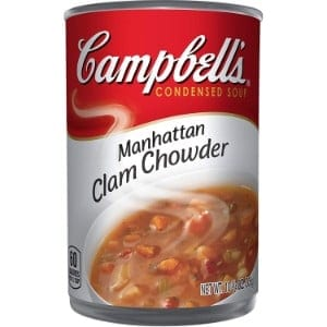 Campbell's Condensed Soup, Manhattan Clam Chowder Product Image