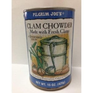 Pilgrim Joe's Clam Chowder Product Image