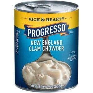 Progresso Soup, Rich & Hearty, New England Clam Chowder Soup Product Image