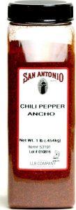 San Antonio Ground Ancho Chile Pepper Chili Powder