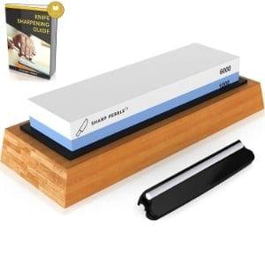 Sharp Pebble Premium Knife Sharpening Stone 2 Side Grit 1000 6000 Waterstone Product Image