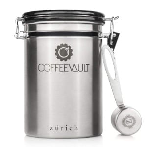 Zurichcoffee Vault Premium Coffee Canister Airtight Product Image