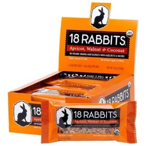 18 Rabbits Organic Gluten Free Granola Bar Product Image