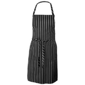 Chef Works Chalk Stripe Bib Apron Product Image