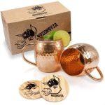 Moscow Mule Mugs – Nozdrovia Product Image