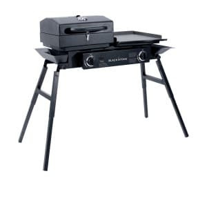 Blackstone Grills Tailgater Portable Gas Grill And Griddle Combo Product Image