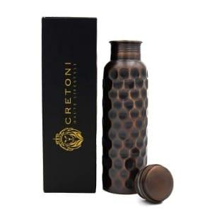 Cretoni Antique Series Pure Copper Water Bottle Product Image