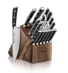 Cangshan Ts Series 1020885 Swedish Sandvik 14c28n Steel Forged 17 Piece Knife Block Set Product Image