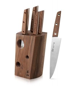 Cangshan W Series 59960 6 Piece German Steel Knife Block Set Product Image