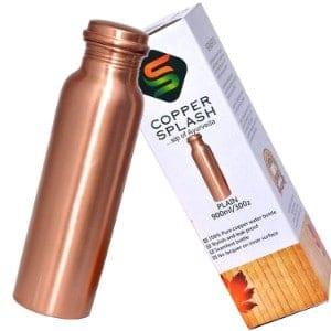 Copper Splash Copper Water Bottle Product Image