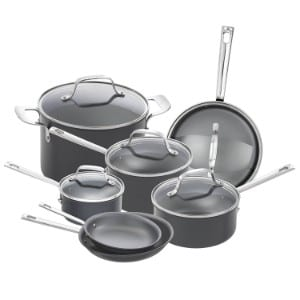 Emeril Lagasse 12 Piece Nonstick Cookware Set, Hard Anodized Product Image