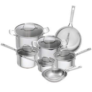 Emeril Lagasse 14 Piece Stainless Steel Cookware Set Product Image