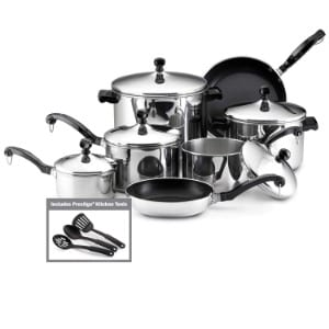 Farberware Classic Stainless Steel 15 Piece Cookware Set Product Image