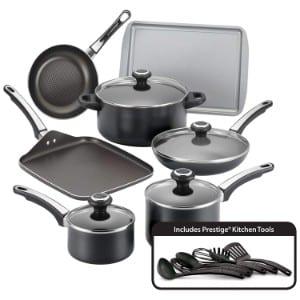 Farberware High Performance Nonstick Aluminum 17 Piece Cookware Set Product Image