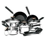 Paula Deen Signature Stainless Steel 12 Piece Cookware Set Product Image