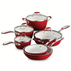 Tramontina 80110 202ds Gourmet Ceramica Deluxe Cookware Set Product Image
