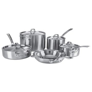 Viking Professional 5 Ply Stainless Steel Cookware Set, 10 Piece Product Image