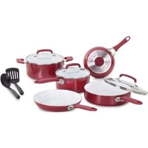 Wearever C943sa Pure Living Nonstick Ceramic Coating Cookware Set Product Image