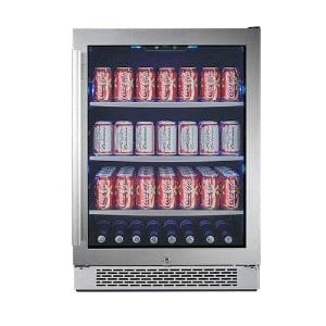 Avallon Abr241sgrh 152 Can 24in Built In Beverage Cooler
