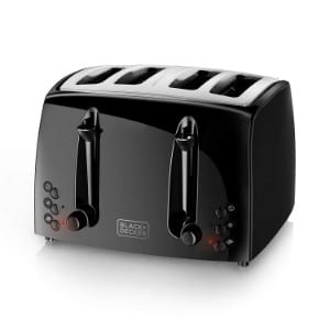 Black+decker 4 Slice Toaster Tr1410bd