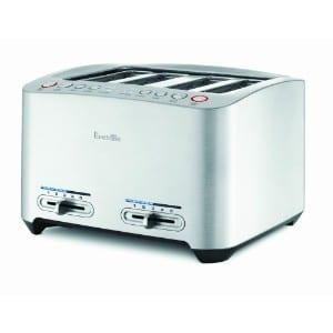 Breville Bta840xl Die Cast 4 Slice Smart Toaster