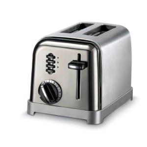 Cuisinart Cpt 160 Metal Classic 2 Slice Toaster