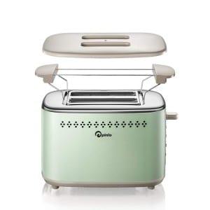P Pinlo 2 Slice Stainless Steel Toaster