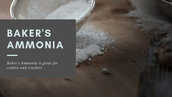 Baker's Ammonia