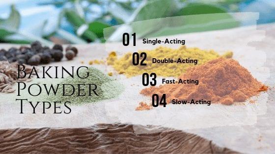 Baking Powder Types