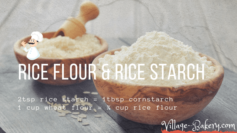 Rice Flour & Starch