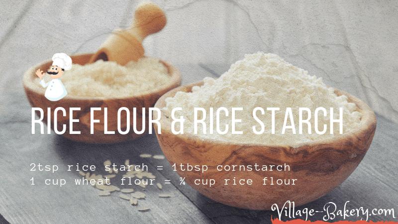 Rice Flour & Starch