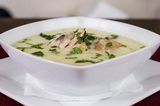 chicken, soup, chicken soup
