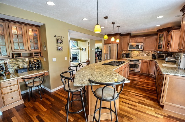 kitchen, residential, home