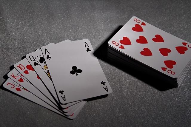 playing cards, poker, bridge