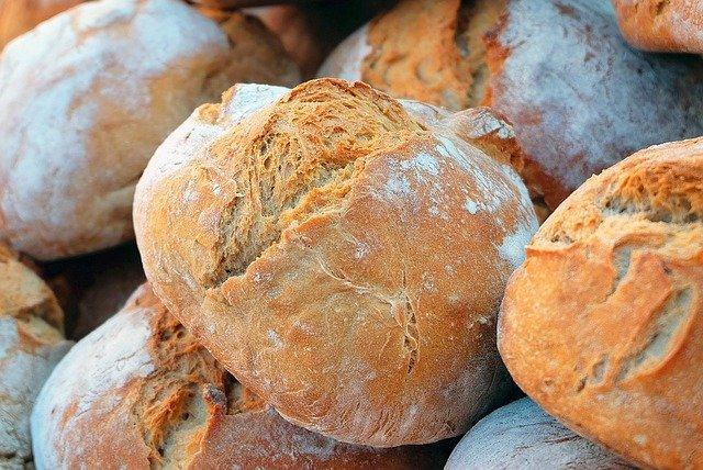 bread, farmer's bread, crispy